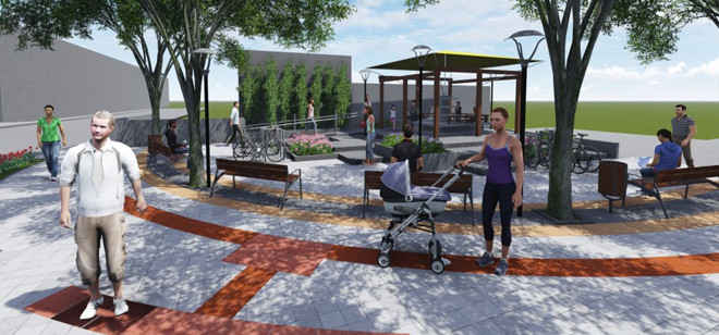 Praça da Leitura será entregue hoje para a comunidade