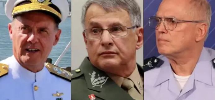 Governo anuncia saída de comandantes das Forças Armadas