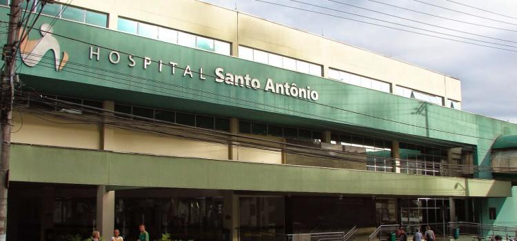 Caixa é arrombado no Hospital Santo Antônio