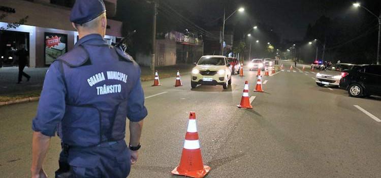Blitze de trânsito são intensificadas em Blumenau
