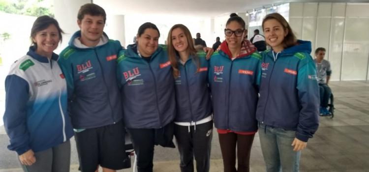 Paratletas de Blumenau voltam com medalhas do Circuito Loterias Caixa