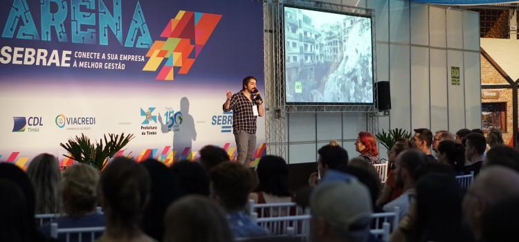 Sebrae reúne mais de 1,2 mil empreendedores em Timbó
