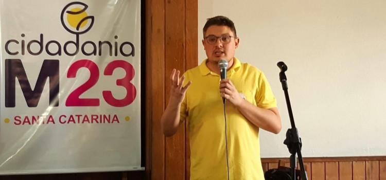 Bruno Cunha lança candidatura pelo Cidadania