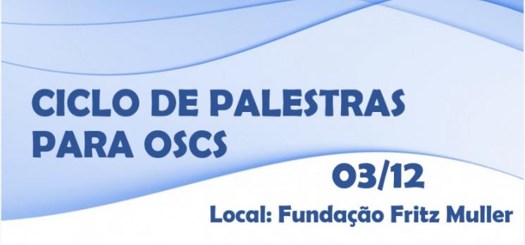 Acib promove Ciclo de Palestras para OSCS