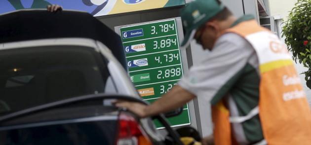 Petrobras anuncia novo aumento da gasolina nas refinarias