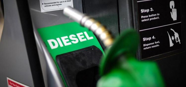 Região Sul registra a maior alta para o diesel de todo o País