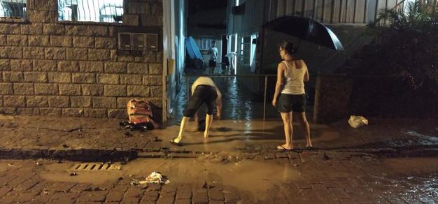 Cidade continua sob risco de novas pancadas de chuva
