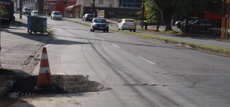 Seurb fará manutenção na Rua 7 de Setembro hoje