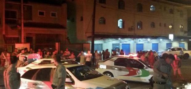 Polícia troca tiro com fugitivos da penitenciária