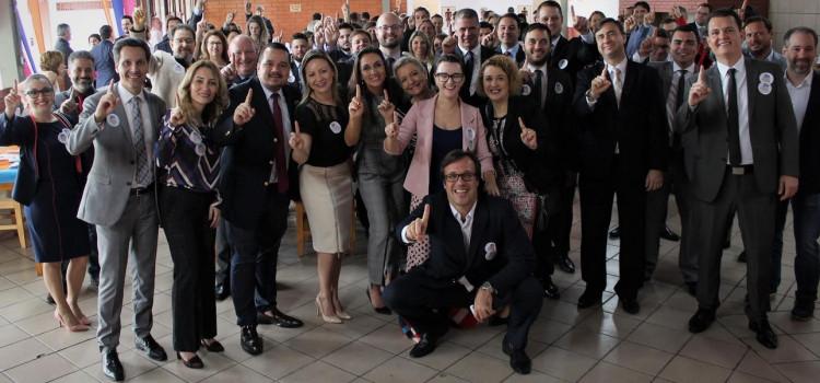 Lançamento da chapa Advocacia Unida ocorre em Blumenau