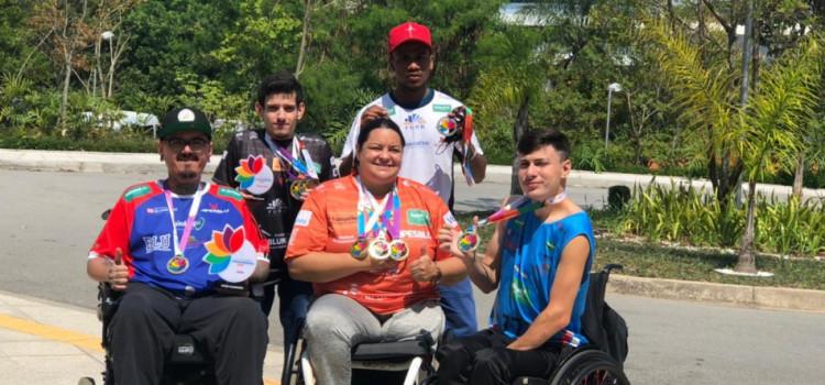 Blumenauenses conquistam dez medalhas nas Paralimpíadas Universitárias