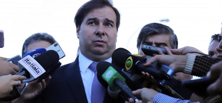 Rodrigo Maia afirma que a Câmara não aprovará aumento de impostos