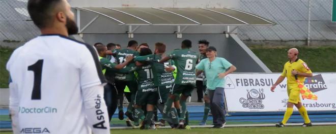 Vitória contra SãoJosé mantém o Metrô vivo na Série D