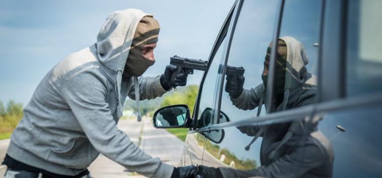 Criminoso de toma pedrada na Vila Itoupava