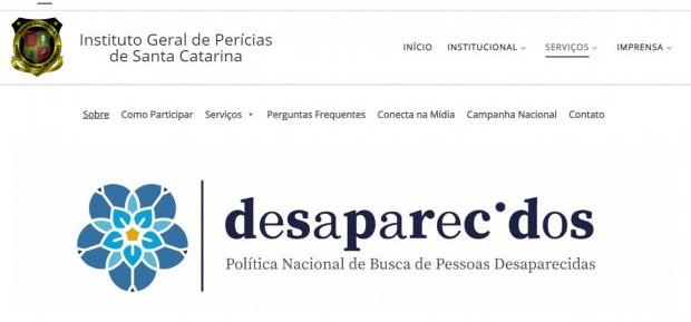 IGP lança site para localizar pessoas desaparecidas