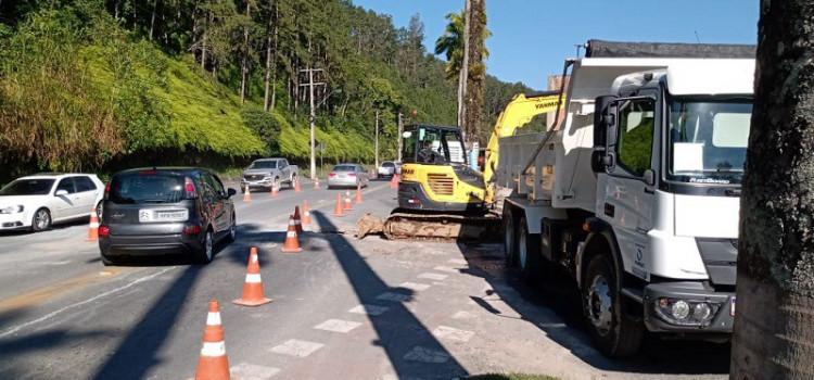 Rua Amazonas recebe travessia e interligação de rede hoje