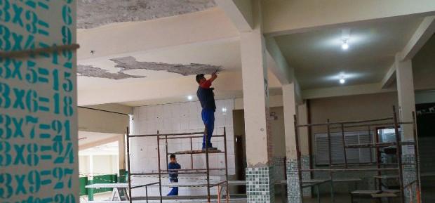Manutenção nas escolas recebe R$ 257 milhões em investimentos