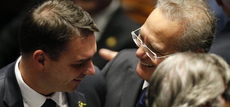 Renan Calheiros elogia Jair Bolsonaro - Blumenews