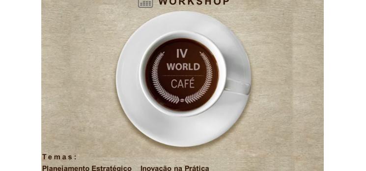 World Café debate gestão das empresas