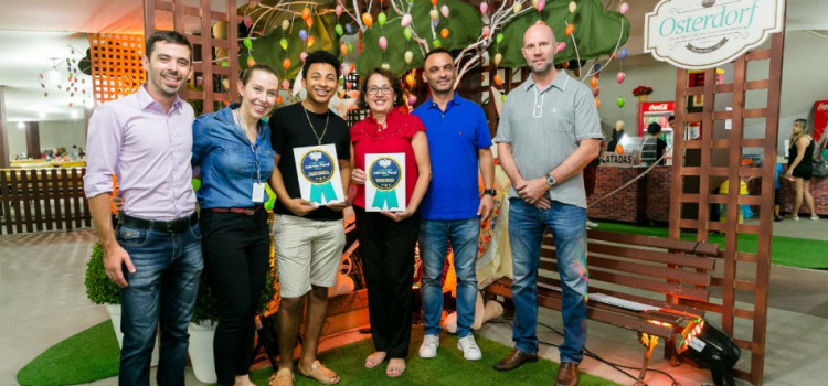 Os vencedores do Concurso de Colomba Pascal da Osterdorf