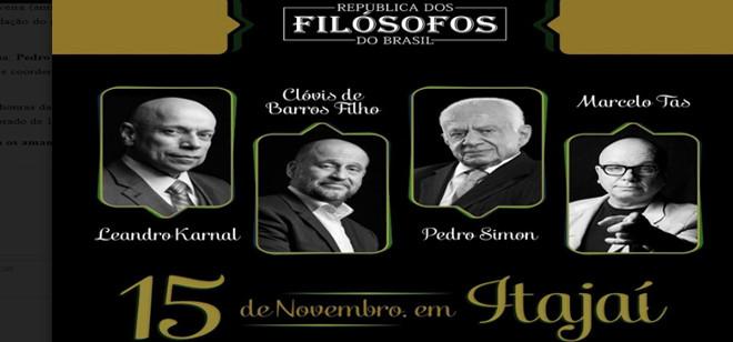 Maria's promove a República dos Filósofos do Brasil em novembro