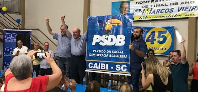 PSDB atinge a marca dos 295 municípios em Santa Catarina