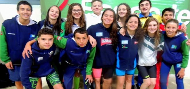 Definida a seleção da Natação de SC aos Jogos da Juventude