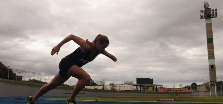 Paratleta blumenauense participa de Open Internancioal de Atletismo