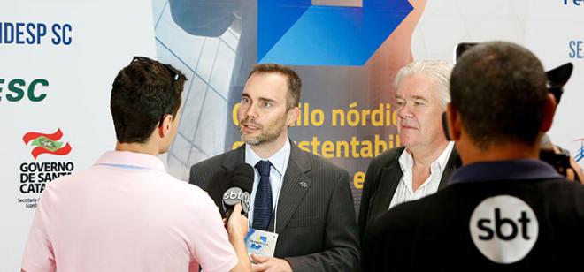 Catarinenses participam de missão técnica na Suécia