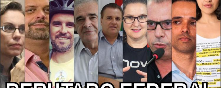 Conheça os principais candidatos a deputado federal de Blumenau