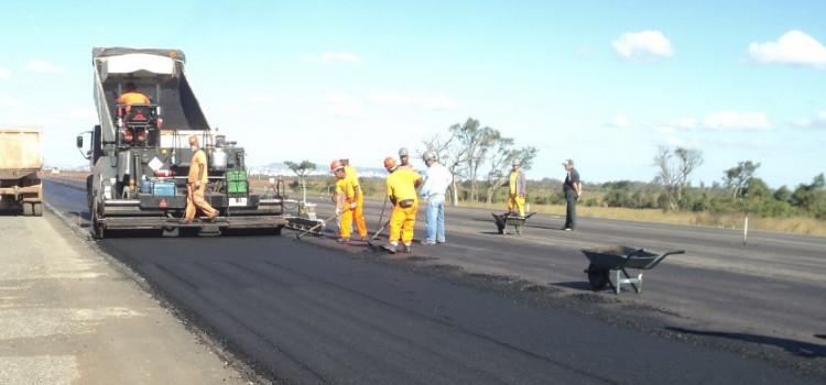 O avanço das obras na BR-470 também significa desapropriações
