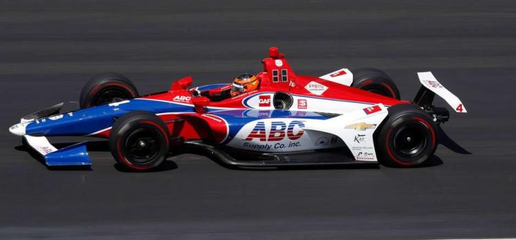 Matheus Leist encerra mês de maio em quarto lugar no Grand Prix da Indy 500