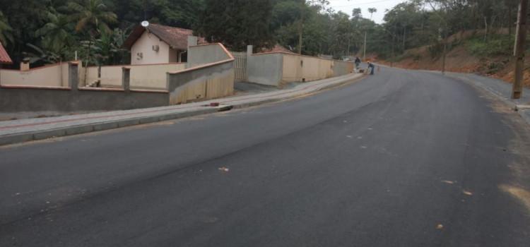 Obras na Rua Gustavo Henschel acabam até a próxima semana