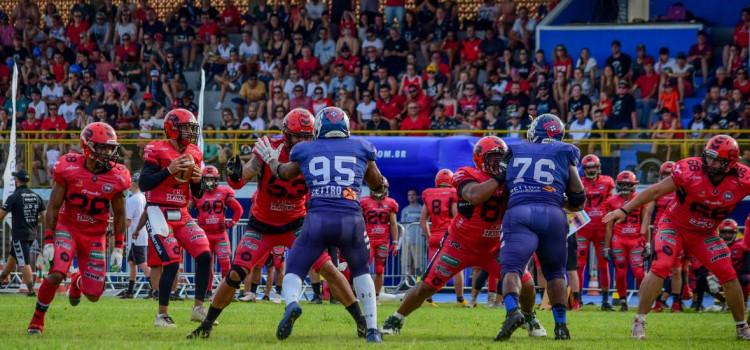 T-Rex vence Tubarões do Cerrado e está no Brasil Bowl 2019