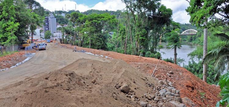 Obras na Rua República Argentina e Chile têm previsão de entrega em 2019