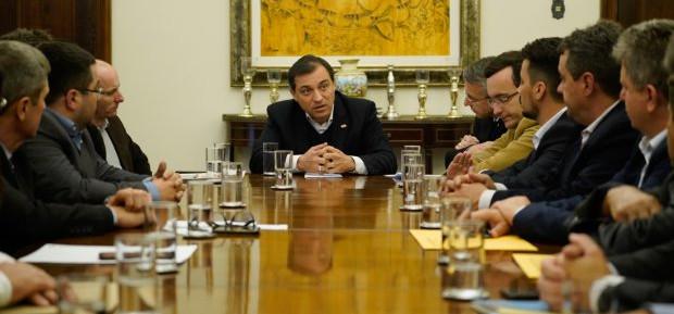 Governador recebe prefeitos do Médio Vale do Itajaí