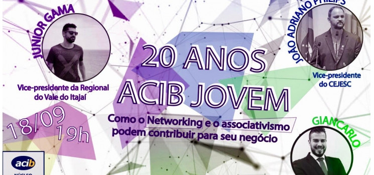 Acib Jovem comemora 20 anos falando sobre associativismo