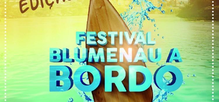 4ª edição do Blumenau a Bordo ocorre neste domingo, na Prainha