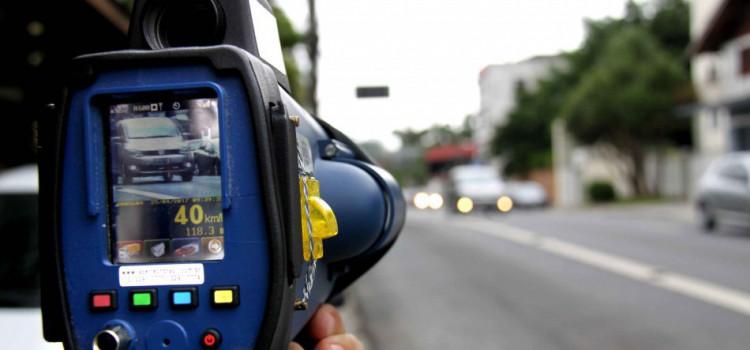 Confira as ruas que poderão ser fiscalizadas com os radares portáteis