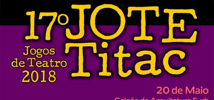 Domingo tem a 17ª edição dos Jogos de Teatro-Texto na Furb