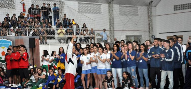 Cerimônia marca abertura da Etapa Leste-Norte dos Joguinhos Abertos