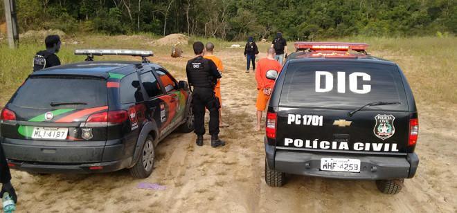 Polícia Civil faz reconstituição de homicídio em Brusque