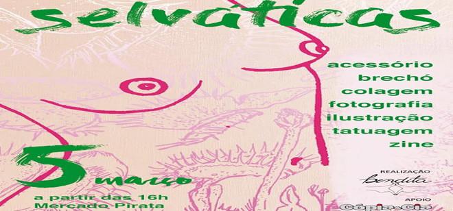 Feira em BC promove divulgação e empoderamento da arte feminista
