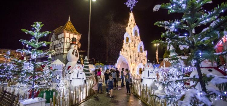 Mais de 11 mil pessoas visitaram a Vila de Natal no fim de semana