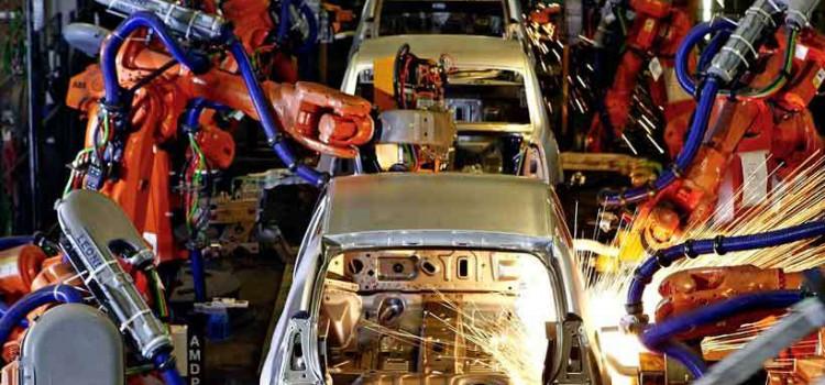 Produção industrial tem 3ª alta seguida no ano