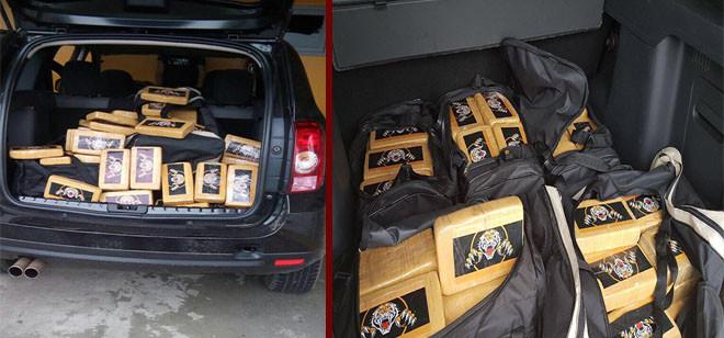 Investigação da Polícia Civil resulta em apreensão de mais de 150kg de cocaína