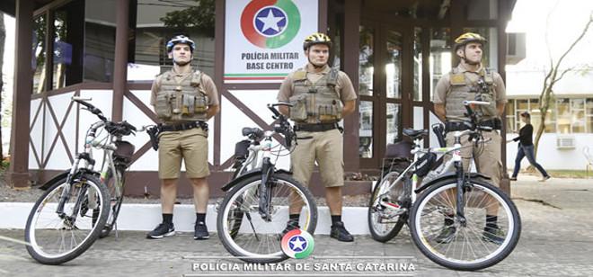 Batalhão implementa policiamento ostensivo por meio de bicicletas