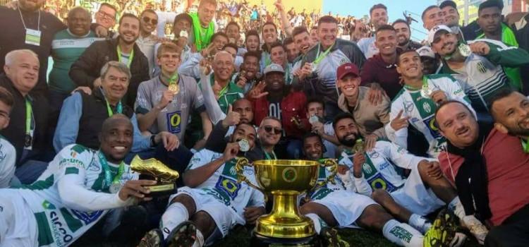 Metrô é Campeão Catarinense da Série B