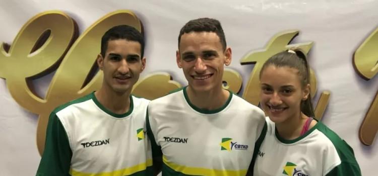 Equipe olímpica de taekwondo volta a competir depois de um ano