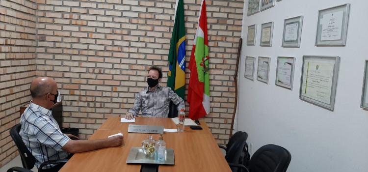 Maurício Goll busca recursos para melhoria do Progresso